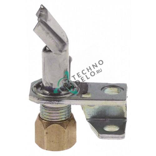 Горелка конфорки Robertshaw 2C-2 код 18 1-пламенная природный газ 1/4 CCT G0526 для оборудования Garland
