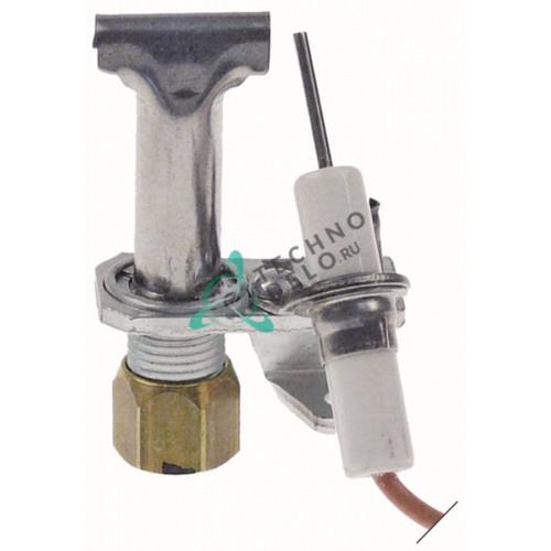 Горелка Robertshaw 3SL-2 2-х пламенная код 18/10 природный/сжиженный газ 1/4 CCT для теплового кухонного оборудования