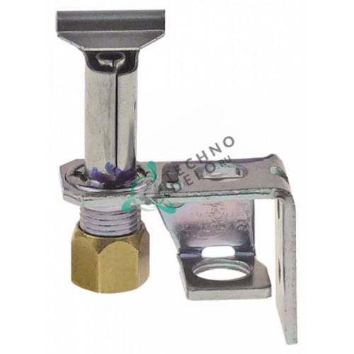 Горелка конфорки Robertshaw 3CH-4 код 18/10 2-х пламенная природный/сжиженный газ 1/4 CCT 1028288 1028289 для Garland