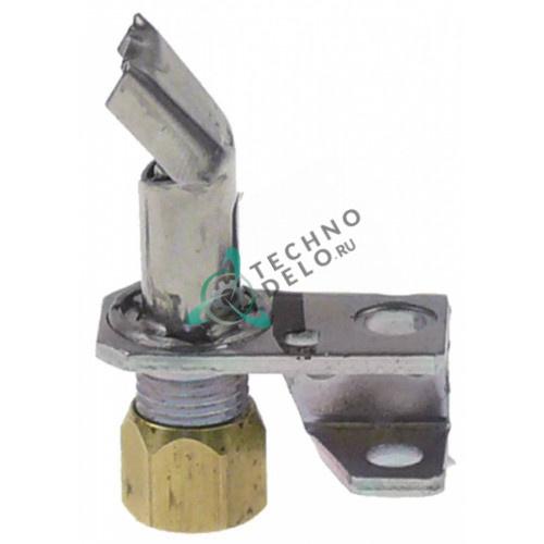 Горелка для конфорки Robertshaw 2C-2 код 18/10 1 пламенная природный/сжиженный газ 1/4 CCT 109839 для Vulcan