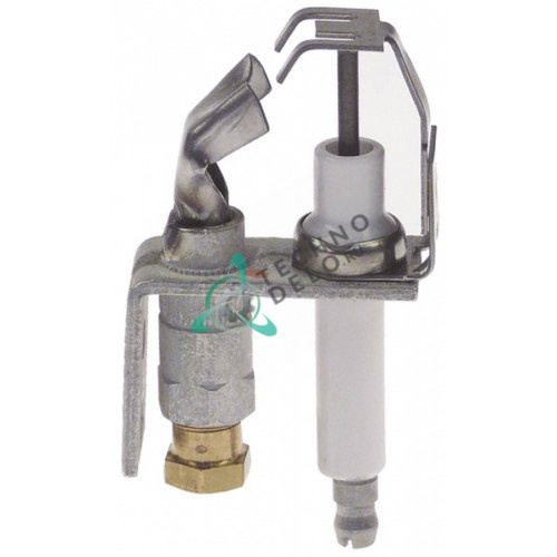 Горелка конфорочная Honeywell Q345AFB 1240 однопламенная природный газ BCR18 1/4 для Market Forge, Southbend
