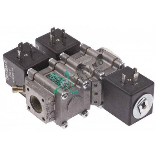 Клапан газовый 230VAC 1/2 105x145мм 534510930 RZZ43 печи Falcon G1808 и др.