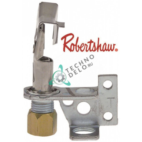 Горелка конфорки Robertshaw 6CH14-1 код 22 3-х пламенная природный газ 1/4 CCT SGT335 для Aliberinox и др.
