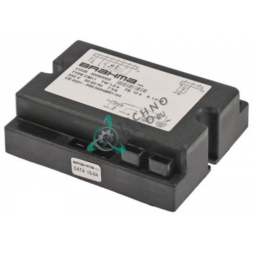 Контроллер газовый Brahma CM11 1,5с/10с 230В 7ВА 809878 для Gierre, Sogeco, Emmepi и др.