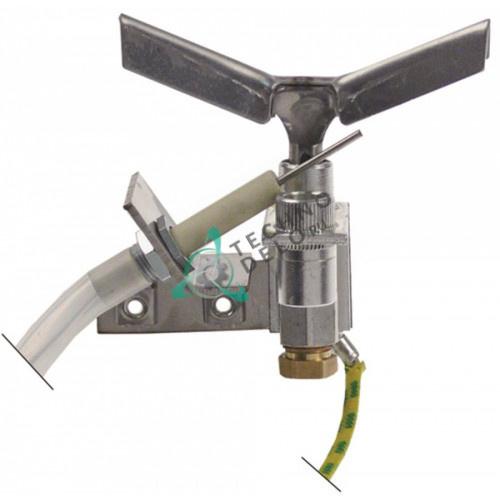 Горелка конфорочная Honeywell Q327 3-х пламенная природный газ дюза NE22 BAAN860936 132885 для Bonnet и др.