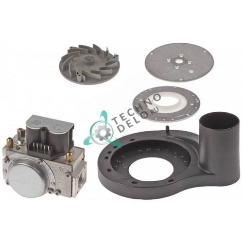 Клапан (вентиль) газовый Dungs GB-ND 055 D01 S02 243443 230В вход/выход 1/2IG L-105мм 7000033 для Fagor, Rational