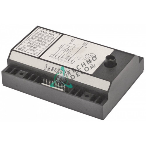 Газовый автомат GASLITER MARK10DX-24-716-2 (1 сек. 24В) PP11145 для фритюрницы Pitco и др.