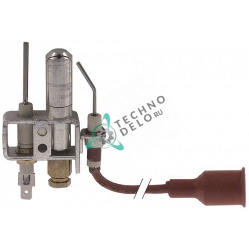 Горелка конфорочная Middleby-Marshall W1042 3-х пламенная природный/сжиженный газ дюза d-14мм 1/4 M6397