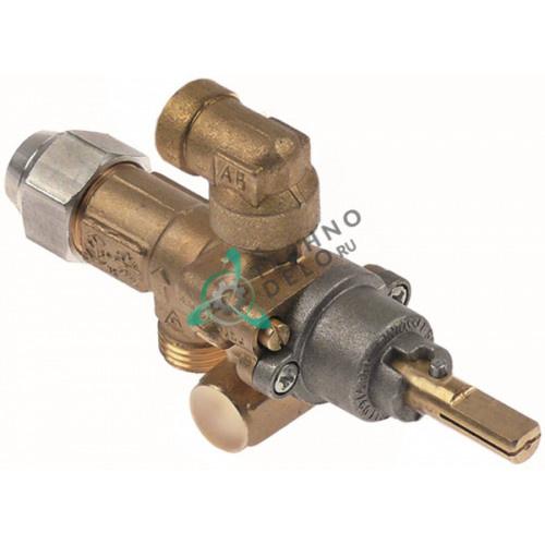 Кран газовый AB A60 M16x1,5 1/8 BSP-F M9x1 для Moffat
