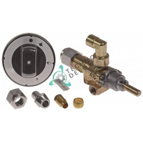 Кран газовый AB A60 M16x1,5 1/8 BSP-F M10x1 для B&S