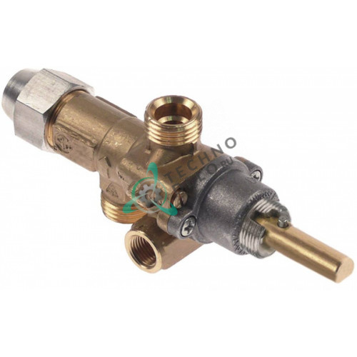 Кран газовый AB A60-CL M16x1,5 M9x1 M10x1 M14x1 для ClayOvens