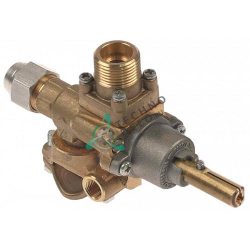 Кран газовый AB A62UV ø27мм M20x1,5 M9x1 M10x1 для NTGas