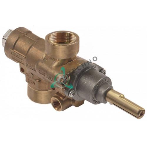 Кран газовый AB A63C 3/4x14 BSP-F M9x1 M10x1 для Nayati