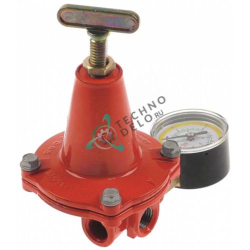 """Регулятор давления Novacomet APZ120R 1/4"""" сжиженный газ выход 1-3 бар с манометром"""