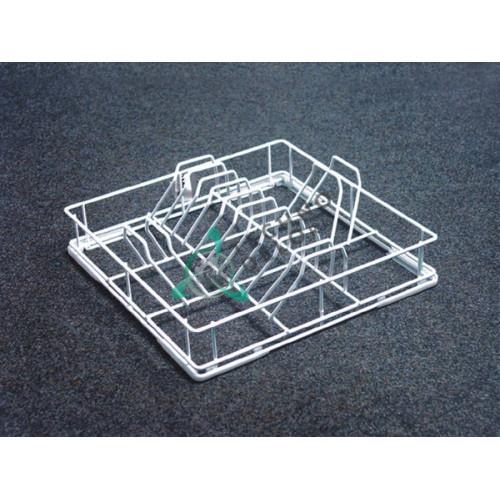 Кассета 400x400x120мм для тарелок ø270мм 0C31 208053 посудомоечной машины Dihr, Kromo, Krupps и др.