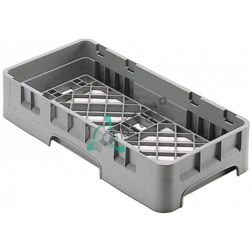 Кассета Cambro 250x500x101мм решетчатое дно с крупными отверстиями для профессиональных посудомоечных машин