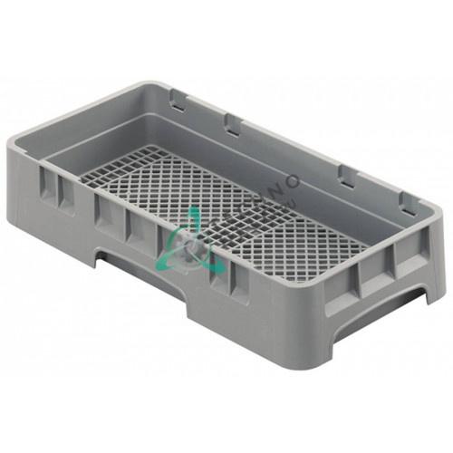 Кассета Cambro 250x500x101мм для столовых приборов применяется в профессиональных посудомоечных машинах