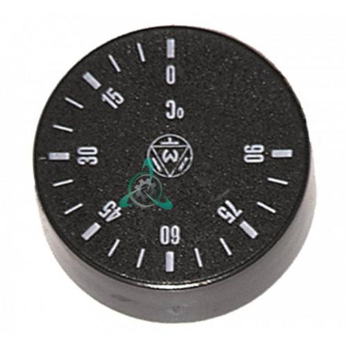 Рукоятка регулировочная IMIT 556301 ø42мм (деления 0-90°C, ось 6x4,6мм) для термостата