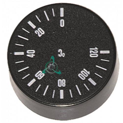 Ручка термостата t.max. 120°C GR59SI100278 для оборудования Camurri, Grandimpianti, LineaBlanca и др.