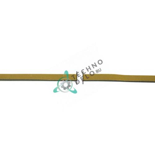Уплотнитель из губчатой резины 10x2мм самоклейка (5 м в упаковке) 046583