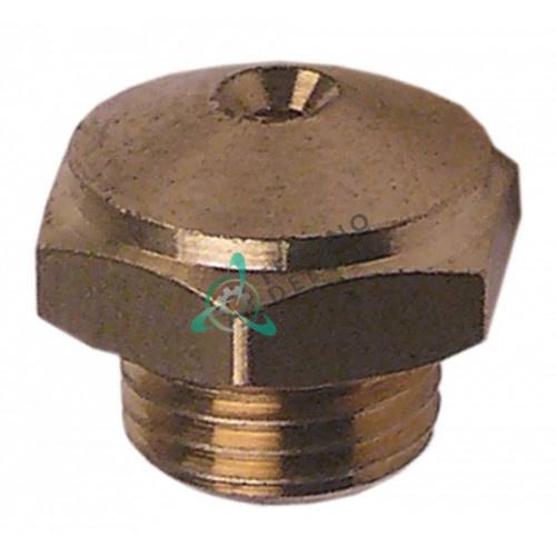 Дюза полоскания H-12мм резьба M10x1 ключ 14 отверстие ø1,6мм 12017281 Z651931 пароконвектомата Fagor
