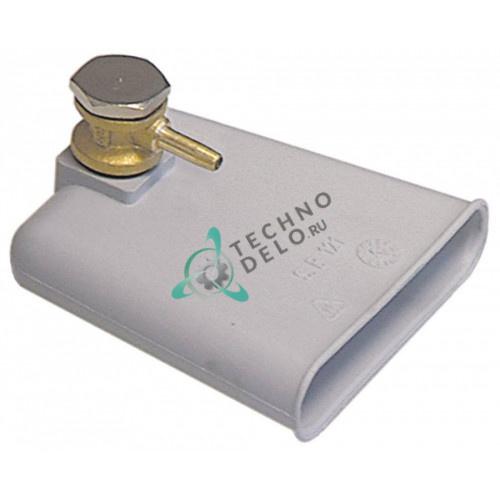 Воздушная камера 984001 L85мм W20мм H80мм посудомоечной машины Colged, Electrolux, Elettrobar и др.