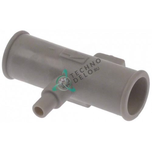 Клапан слива ø21.5/ø12.5мм ø7.5мм H15818 для посудомоечной машины Comenda FC3E/FC3MA/FC44E и др.