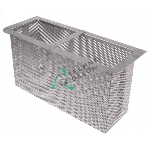 Фильтр сетчатый (прямоугольный) 205x405x160мм 43044 12026372 EU43044 для Colged, Elettrobar, MBM, Fagor и др.