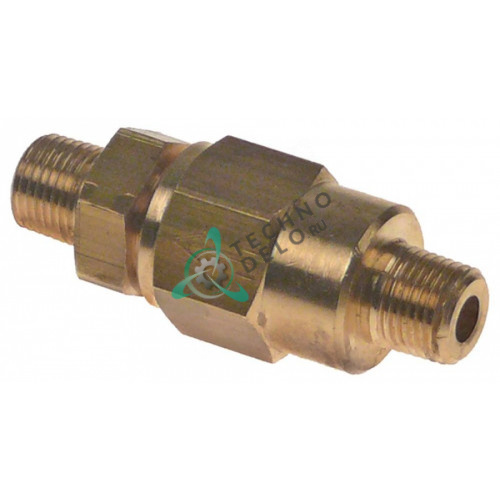 Клапан обратный 1/8 L-30мм 20358 453200 A1300056 для Astoria-Cma, Fiorenzato-C.S, Grimac, La-Pavoni и др.