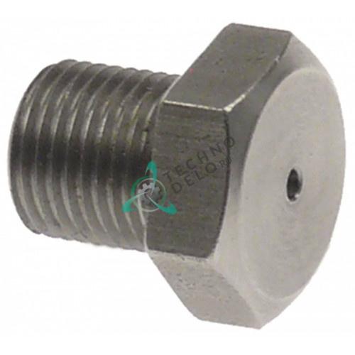 Сопло впрыскивающее 6005413 отверстие ø1.5мм ключ 14 резьба M10x1 печи Convotherm OEB10.10/OES10.10 и др.