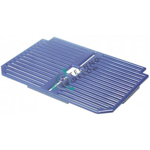 Решётка синяя F060BM для емкости сбора капель сокоохладителя и гранитора CAB Faby 1-3, Fast Cold 1-3