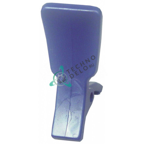 Рычаг голубой F012BM для дозирующего крана охладителя напитков (гранитора) CAB FABY 1/FABY 2/FABY 3