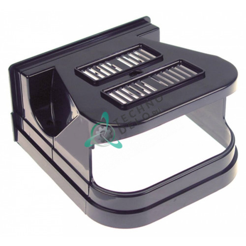 Крышка черная передняя F001/N для дозатора охлажденных напитков и гранитора CAB Faby 1-3, Fast Cold 1-3