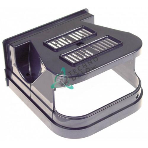 Крышка голубая задняя F001BM(CF) для профессионального охладителя напитков и гранитора CAB Faby 1-3, Fast Cold 1-3