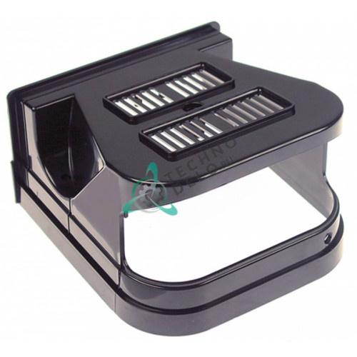 Крышка чёрная задняя F001/N(CF) для холодильного оборудования (дозаторы напитков) CAB Faby 1-3, Fast Cold 1-3 и др.