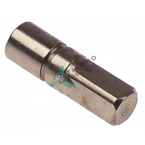 Вал четырёхгранный L-48мм резьба M8x1,25 900895 для соковыжималки Hendi 221204, Horeca-Select, Sunmile
