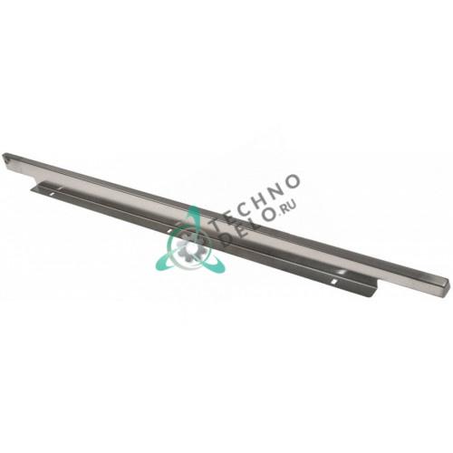 Желоб сбора капель 755x20x40мм ø9,6мм 0C4292 нержавеющая сталь для пароконвектомата Electrolux AOS062EAB1 и др.