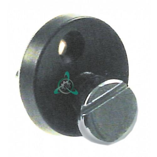Замок-фиксатор 004838 для стекла двери пароконвектомата Electrolux, Zanussi FCV/G6L6B/ECV и др.