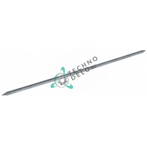Шампур длиной 800мм профиль 12x12мм 24023126 для гриля под шаурму Inoksan