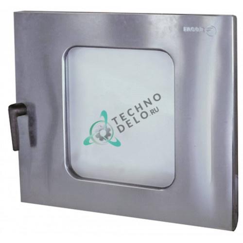 Дверца в сборе 1100002596 12010902 для печи Fagor HCG-10-21, HCG-2-10-11, HME-10-21, HMM-2-10-11, HMP-10-21 и др.