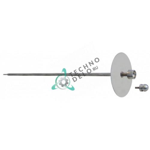 Шампур F03039COM L715мм 12x12мм (с тарелкой ø210мм) для гриля шаурмы Roller Grill GRE80/GRG80