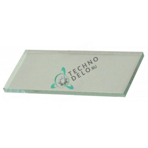 Стекло 123x50x5мм 067020 профессионального теплового оборудования Star-10 (печь для пиццы PIZZA41 и др.)