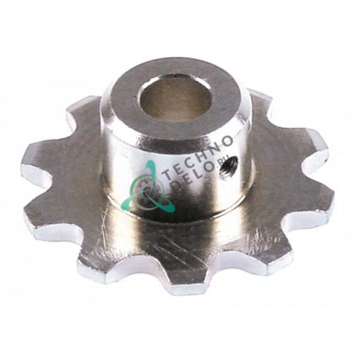 Звездочка цепная (10 зубьев / ø 63мм) нержавеющая сталь для тостера Inoksan и др.