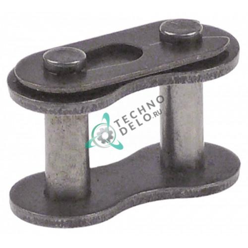 Звено цепи соединительное DIN/ISO 08 B-1 деление 1/2 23x11,8мм SL1632 для Comenda, Cuppone, Electrolux, Fagor, Fimar и др.