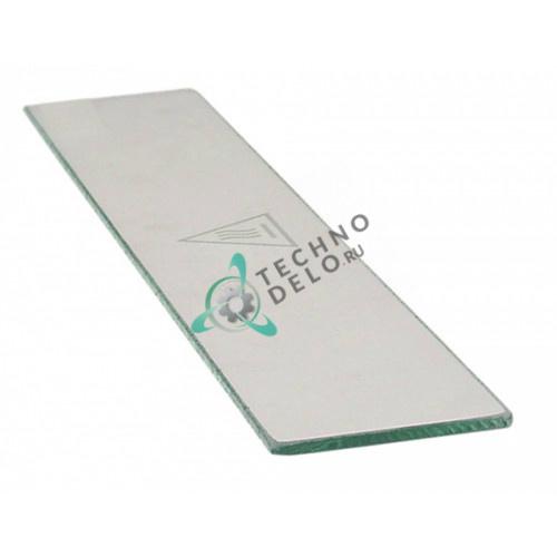 Стекло термостойкое пластина 525x93x6 мм CRIS0025 для пицца печи Mastro, Zanolli T Polis и др.