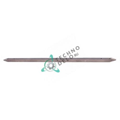 Шампур длиной 450мм профиль 12x12мм 4010061 для гриля под шаурму CB