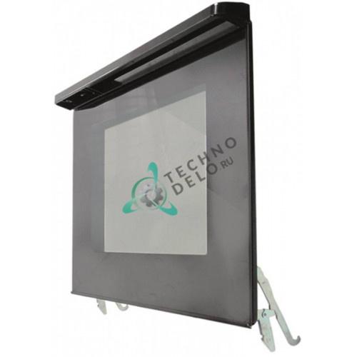 Дверца в комплекте 585x410мм для профессионального теплового оборудования (духовой шкаф) SMEG