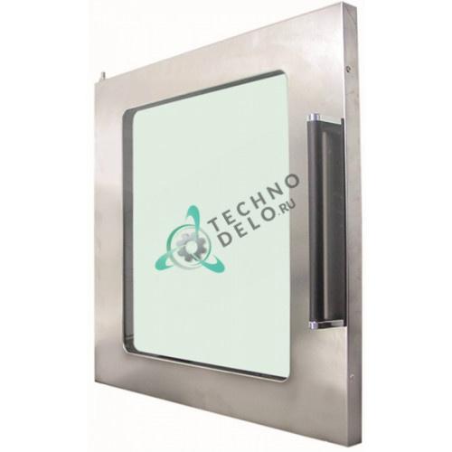 Дверца в комплекте 665x650мм 696133545 для профессионального теплового оборудования (духовой шкаф) SMEG
