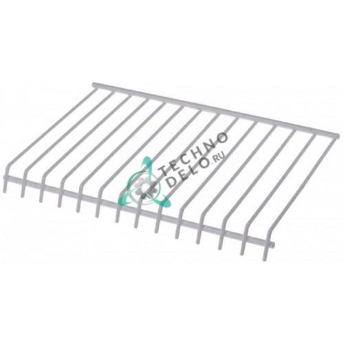 Решётка ледоскат 250x170x25мм 0KM707 650705 для Angelo Po, Electrolux, Icematic, Simag и др.