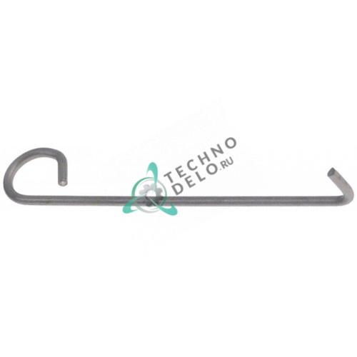Пружина задняя L-80мм проволока 2мм SL2385 72500320 для тестораскатки Moretti, Fimar FI32-FI42-FIP42-SI320 и др.